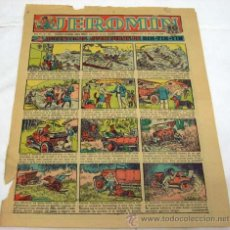 Tebeos: PORTADA JEROMÍN Nº 359 26 MARZO 1936 AUTÉNTICAS AVENTURAS DE RIN TIN TIN. Lote 15292589
