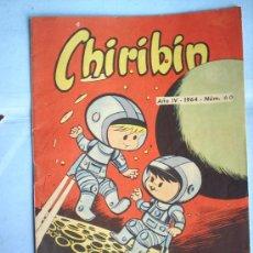 Tebeos: CHIRIBIN,N.60 1964 ,EDICIONES TIBIDABO. Lote 15746799