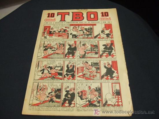 TBO - ORIGINAL PRIMERA EPOCA - AÑO XIX - NUMERO 935 - 10 CENTIMOS - (Tebeos y Comics - Tebeos Clásicos (Hasta 1.939))