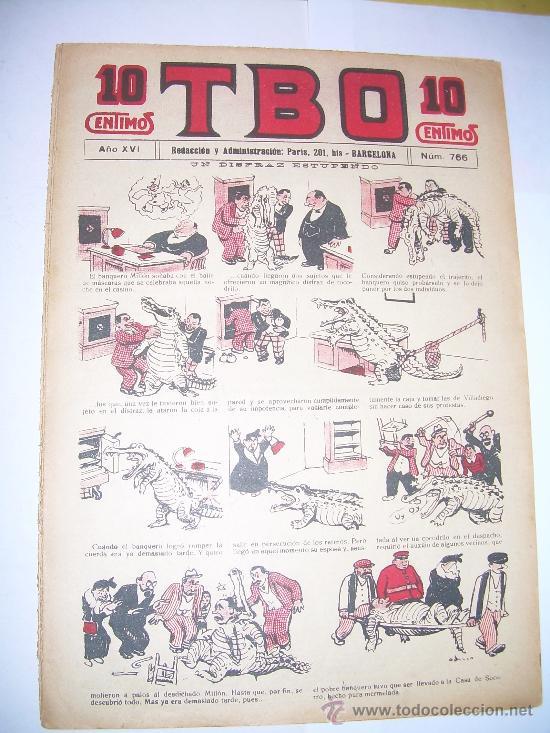 TBO . AÑO XVI . - NUMERO 766 (Tebeos y Comics - Tebeos Clásicos (Hasta 1.939))