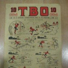 Tebeos: T B O 10 CENTIMOS. AÑO XVII. Nº 814. BARCELONA 1928. Lote 16175031