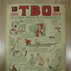 Tebeos: T B O 10 CENTIMOS. AÑO XVII. Nº 830. BARCELONA 1928. Lote 17622408