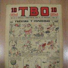 Tebeos: T B O 10 CENTIMOS. AÑO XVII. Nº 848. BARCELONA 1928. Lote 16175061