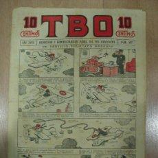 Tebeos: T B O 10 CENTIMOS. AÑO XVII. Nº 887. BARCELONA 1928. Lote 16175167