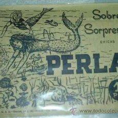 Tebeos: SOBRE SORPRESA PERLA (CON SIRENA) - 1969 - CONTIENE TEBEO - SOBRE SIN ABRIR. Lote 96420256
