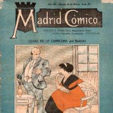 Tebeos: MADRID COMICO AÑO 1911 SABABADO 18 DE MARZO Nº 57. Lote 16668800
