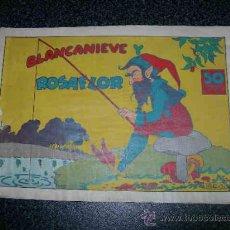 Tebeos: 2019 BLANCANIEVE Y ROSAFLOR.COMERCIAL GERPLA. 50 CTS.. Lote 16766010