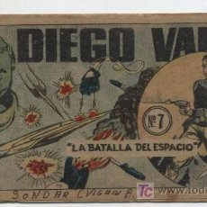 Tebeos: DIEGO VALOR Nº 7.. Lote 17290911