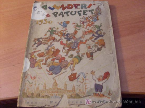 EN PATUFET ( CALENDARI 1930 ) (Tebeos y Comics - Tebeos Clásicos (Hasta 1.939))