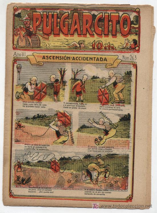 PULGARCITO Nº 263. GATO NEGRO 1921. (Tebeos y Comics - Tebeos Clásicos (Hasta 1.939))