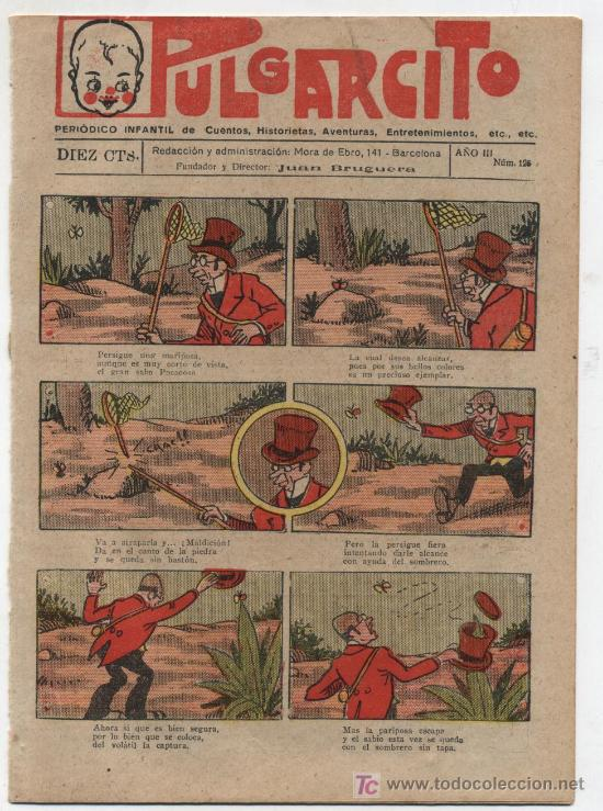 PULGARCITO Nº 125. GATO NEGRO 1921.EN CONTRAPORTADA COMO SE JUEGA A FOOT BALL. (Tebeos y Comics - Tebeos Clásicos (Hasta 1.939))