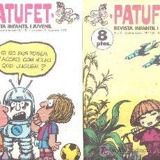 Tebeos: 2 COMIC DE LA REVISTA INFANTIL I JUVENIL PATUFET, AÑO 1972 N 129 Y 133. Lote 17752843