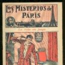 Tebeos: LOS MISTERIOS DE PARIS. Nº 12. LA VIDA EN JUEGO. EDITORIAL EL GATO NEGRO.. Lote 17906901