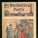 Tebeos: LOS MISTERIOS DE PARIS. Nº 13. LA CARCEL DE MUJERES. EDITORIAL EL GATO NEGRO.. Lote 17906913