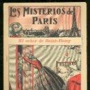 Tebeos: LOS MISTERIOS DE PARIS. Nº 14. EL SEÑOR DE SAINT-REMY. EDITORIAL EL GATO NEGRO.. Lote 17906930