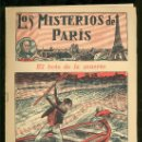 Tebeos: LOS MISTERIOS DE PARIS. Nº 15. EL BOTE DE LA MUERTE. EDITORIAL EL GATO NEGRO.. Lote 17906946
