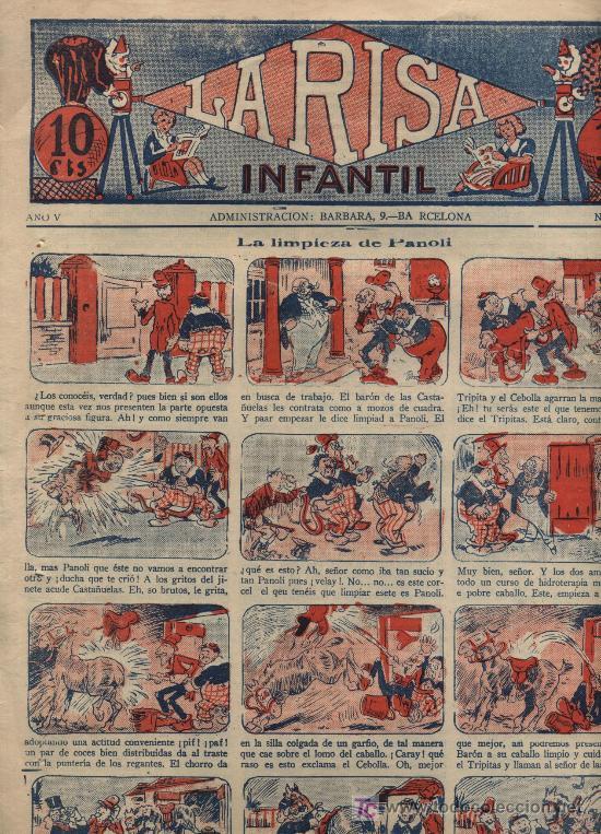 LA RISA INFANTILNº 226. MARCO 1926. (Tebeos y Comics - Tebeos Clásicos (Hasta 1.939))