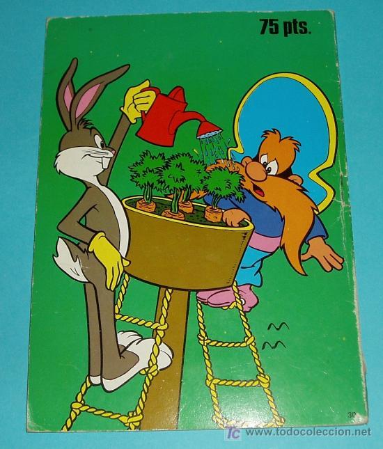 Tebeos: BUGS BUNNY. COLECCIÓN LIBRIGAR Nº 150 . EDIT. FHER. 1981 - Foto 4 - 22863285
