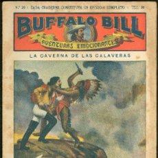 Tebeos: BUFFALO BILL. Nº 20. LA CAVERNA DE LAS CALAVERAS. . Lote 18303916