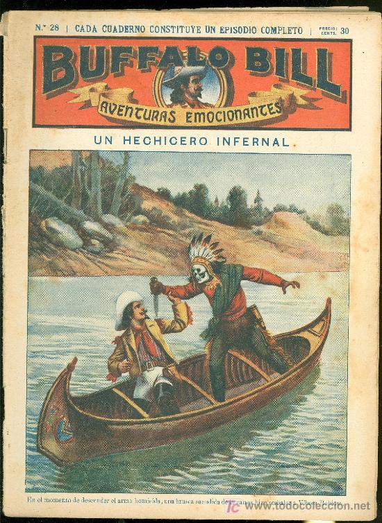 BUFFALO BILL. Nº 28. UN HECHICERO INFERNAL. (Tebeos y Comics - Tebeos Clásicos (Hasta 1.939))