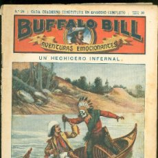 Tebeos: BUFFALO BILL. Nº 28. UN HECHICERO INFERNAL.. Lote 18303937