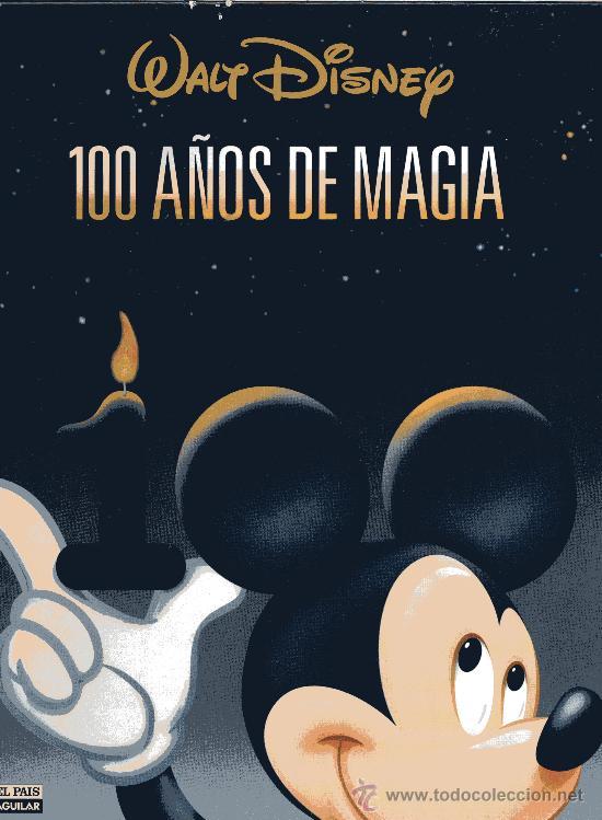 TAPAS 100 AÑOS DE MAGIA (WALT DISNEY) (Tebeos y Comics - Tebeos Otras Editoriales Clásicas)