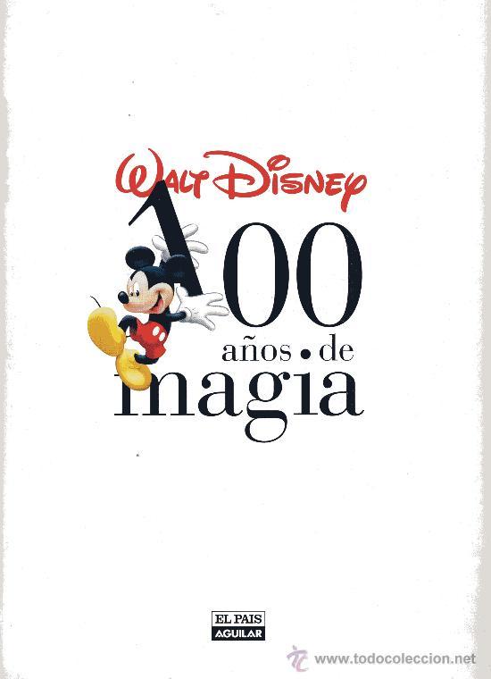 100 años de magia (walt disney) cuadernillo pág - Comprar en ...