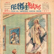 Tebeos: COMIC SEMANARIO NACIONAL FLECHAS Y PELAYOS. NUMERO 123.. Lote 18743740