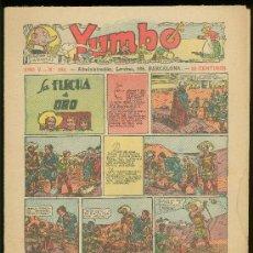 Tebeos: YUMBO. AÑO V. Nº 163. HISPANO AMERICANA DE EDICIONES.. Lote 19274779