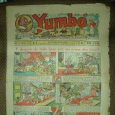 Tebeos: YUMBO. Nº 70. FORMATO GRANDE.. Lote 19279617
