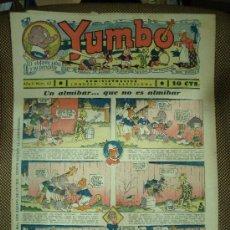 Tebeos: YUMBO. Nº 42. FORMATO GRANDE.. Lote 19279872