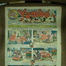 Tebeos: YUMBO. Nº 39. FORMATO GRANDE.. Lote 19279888