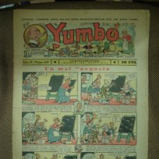 Tebeos: YUMBO. Nº 129. FORMATO GRANDE.. Lote 19292493