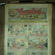 Tebeos: YUMBO. Nº 128. FORMATO GRANDE.. Lote 19292496