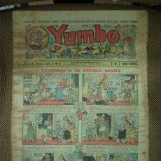 Tebeos: YUMBO. Nº 126. FORMATO GRANDE.. Lote 19292505