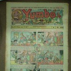 Tebeos: YUMBO. Nº 122. FORMATO GRANDE.. Lote 19292514