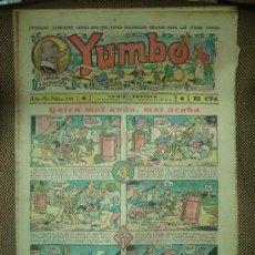 Tebeos: YUMBO. Nº 121. FORMATO GRANDE.. Lote 19292537