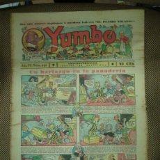 Tebeos: YUMBO. Nº 120. FORMATO GRANDE.. Lote 19292559