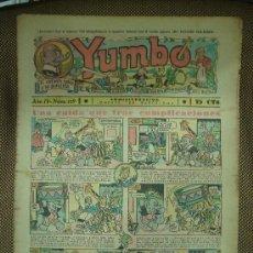 Tebeos: YUMBO. Nº 119. FORMATO GRANDE.. Lote 19292561