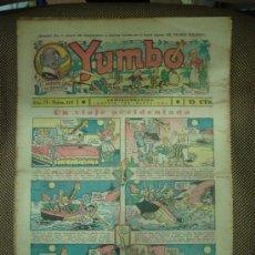 Tebeos: YUMBO. Nº 118. FORMATO GRANDE.. Lote 19292574