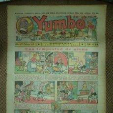 Tebeos: YUMBO. Nº 117. FORMATO GRANDE.. Lote 19292576
