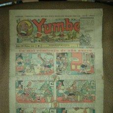 Tebeos: YUMBO. Nº 112. FORMATO GRANDE.. Lote 19292774