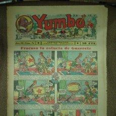 Tebeos: YUMBO. Nº 91. FORMATO GRANDE.. Lote 19293052