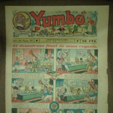 Tebeos: YUMBO. Nº 83. FORMATO GRANDE.. Lote 19293123