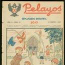 Tebeos: PELAYOS. SEMINARIO INFANTIL. Nº 13. MARZO 1937.. Lote 19380847