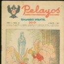 Tebeos: PELAYOS. SEMINARIO INFANTIL. Nº 19. ABRIL 1937.. Lote 19380937