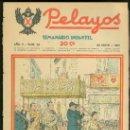 Tebeos: PELAYOS. SEMINARIO INFANTIL. Nº 22. MAYO 1937.. Lote 19381066