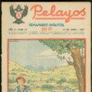Tebeos: PELAYOS. SEMINARIO INFANTIL. Nº 27. JUNIO 1937.. Lote 19381082