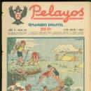 Tebeos: PELAYOS. SEMINARIO INFANTIL. Nº 28. JULIO 1937.. Lote 19381093