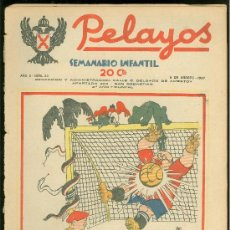 Tebeos: PELAYOS. SEMINARIO INFANTIL. Nº 33. AGOSTO 1937.. Lote 19381115